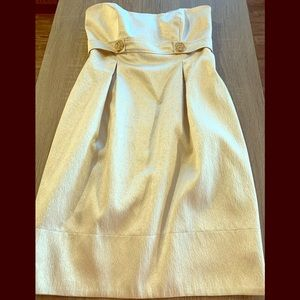 Champagne colored party dress!